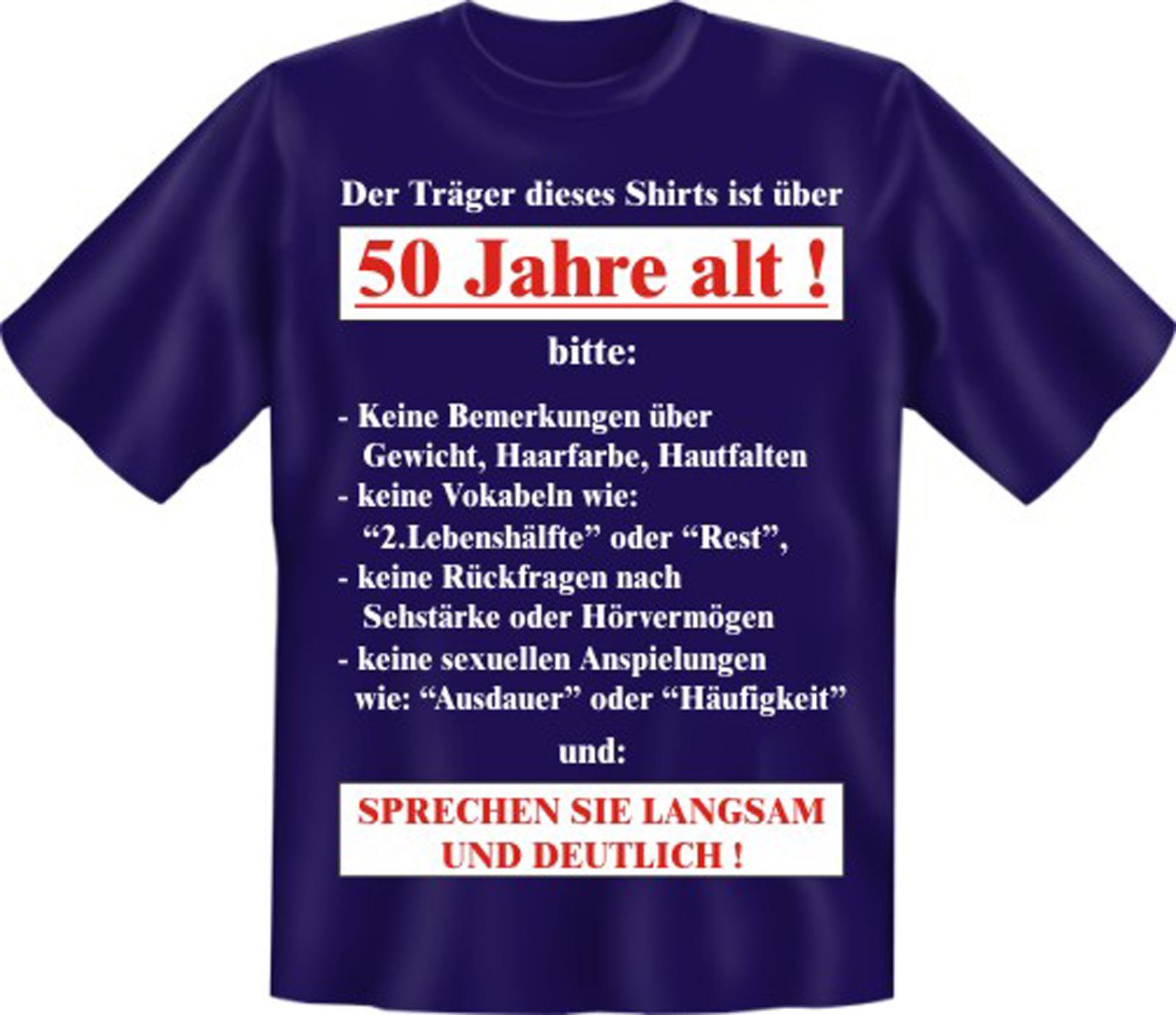 3 Tlg Partyset T Shirt Fun Shirt Zum